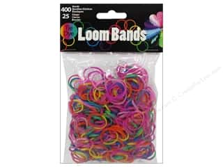 Rubber / Elastic Bands Crafts with Kids: Midwest Design Loom Band Tie-Dye Assorted 425pc