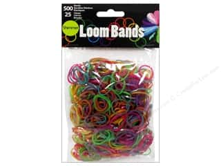 Midwest Design Loom Band Shimmer Astd 525pc