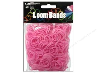 Midwest Design Loom Band Light Pink 525pc