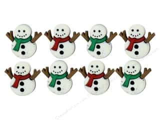 Jesse James Buttons inches: Jesse James Dress It Up Embellishments Sew Cute Snowmen