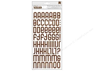 Thickers Alphabet Stickers Close Knit Boardwalk Wood