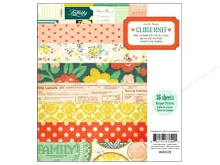 Crate Paper 6 x 6: Crate Paper Pad 6 x 6 in. Close Knit 36 pc.