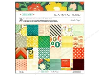 Crate Paper Paper Pad Close Knit 12x12 48pc
