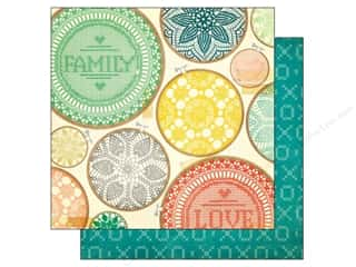 Crate Paper 12 x 12 in. Paper Close Knit Togetherness (25 piece)