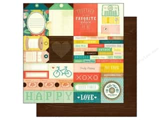 Crate Paper 12x12 Close Knit Laughter (25 piece)