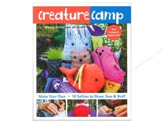 Fun Stitch Studio An Imprint of C & T Publishing Clearance Books: FunStitch Studio Creature Camp Book by Wendy Gratz & Jo Gratz