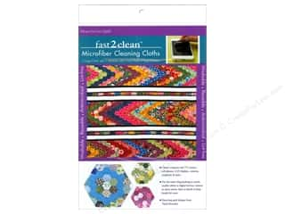 Tack Cloth: Stash By C&T Fast2Clean Microfiber Cloth Hexa GoGo