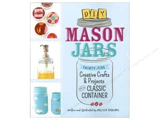 Family Books: Adams Media Corporation DIY Mason Jars Book by Melissa Averinos