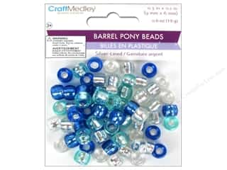Multicraft Beads Pony 9x6mm 19gm Barrel Cloud