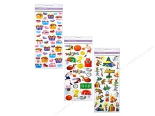 Scrapbooking Sale: Multicraft Stickers, SALE $1.24-$3.79.