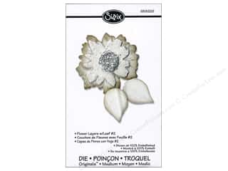Sizzix Originals Die Flower Layers with Leaf #2