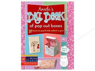 Fun Stitch Studio An Imprint of C & T Publishing Clearance Books: FunStitch Studio Aneela's Big Book Of Pop Out Boxes Book by Aneela Hoey