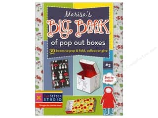 Fun Stitch Studio An Imprint of C & T Publishing Clearance Books: FunStitch Studio Marisa's Big Book Of Pop Out Boxes Book by Marisa Anne