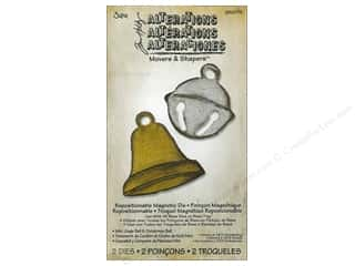 Sizzix Movers & Shapers Magnetic Die Set 2PK Mini Jingle & Christmas Bell