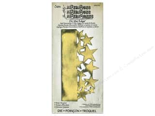 Fabric Stars: Sizzix On The Edge Die Star Cluster by Tim Holtz