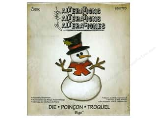 Tim Holtz: Sizzix Bigz Die Assembly Snowman by Tim Holtz