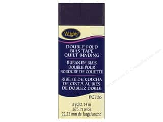 quilting Tape: Wrights Double Fold Quilt Binding 3 yd. Blackberry