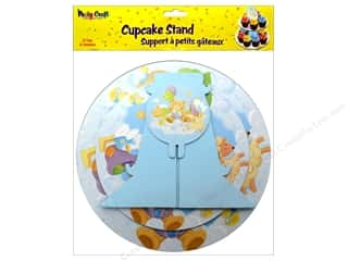 Party Supplies PNL Balloons: Multicraft Party Cupcake Stand 2 Tier Baby Shower