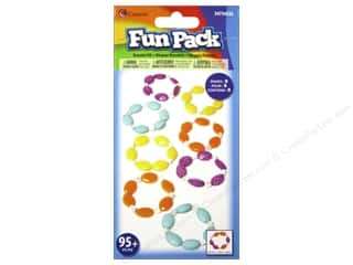 Cousin Fun Pack Kit Bead Bracelet Facet Oval