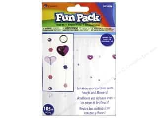 Party Supplies Metallic: Cousin Fun Pack Kit Bead Curtain Heart