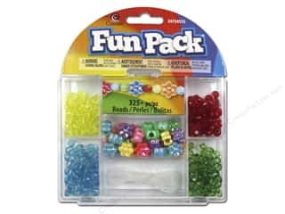 Weekly Specials Pepperell Parachute Cord: Cousin Fun Pack Kit Bead AB Flower Mix