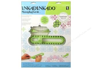 Inkadinkado Stamp Placement Tools: Inkadinkado Stamping Gear Set Deluxe Gear Bar
