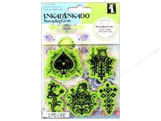 Stamps Stamp Sets: Inkadinkado Cling Stamp Stamping Gear Cards