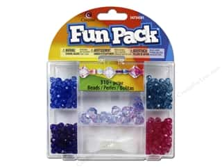 School Cousin Fun Pack: Cousin Fun Pack Kit Bead Bicone Mix