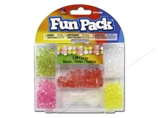 Cousin Fun Pack Kit Bead Butterfly Peach