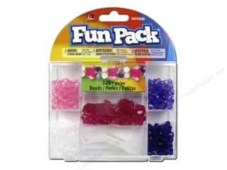 Children Crafting Kits: Cousin Fun Pack Kit Bead Butterfly Pink