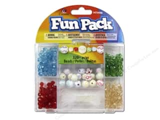 Religious Subjects Crafting Kits: Cousin Fun Pack Kit Bead Round Cross Mix