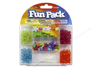 Kids Crafts Burgundy: Cousin Fun Pack Kit Bead Bright Star Mix