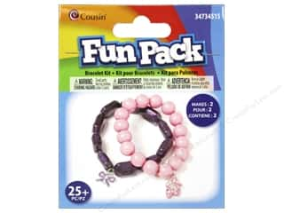 School Cousin Fun Pack: Cousin Fun Pack Kit Bead Bracelet Ballet