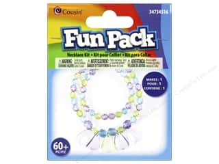 School Cousin Fun Pack: Cousin Fun Pack Kit Bead Necklace Teardrop