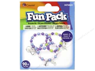 Cousin Fun Pack Kit Bead Bracelet Charm Multi