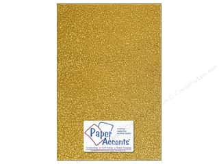 Paper Accents Adhesive Vinyl 12 x 24 in. Sparkle Gold (12 piece)