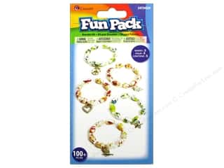 Crafting Kits Beading & Jewelry Making Supplies: Cousin Fun Pack Kit Bead Bracelet Charm