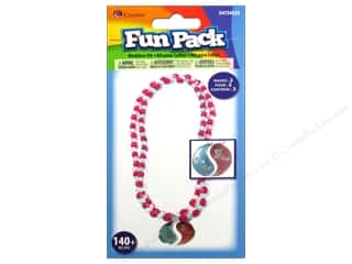2013 Crafties - Best Adhesive: Cousin Fun Pack Kit Bead Necklace BFF/YinYang