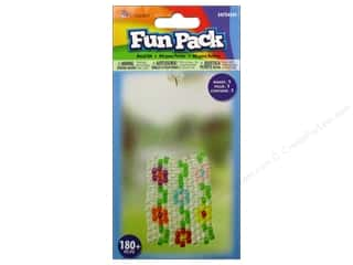 Kid Crafts Flowers: Cousin Fun Pack Kit Bead Suncatcher Flower