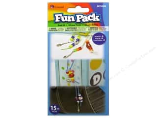 Sports Beading & Jewelry Making Supplies: Cousin Fun Pack Kit Bead Bookmark Sport