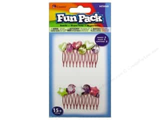 Cousin Corporation of America Hair Accessories: Cousin Fun Pack Kit Bead Hair Comb Beaded