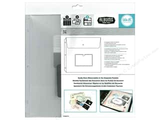 "Scrapbook / Photo Albums Pockets & Page Protectors: We R Memory Keepsake Pocket Albums Made Easy 12""x 12"" 3pc"