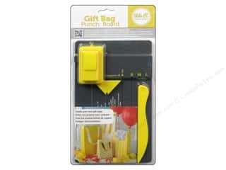 Clearance We R Memory Sew Ribbon Ribbon: We R Memory Tool Punch Board Gift Bag