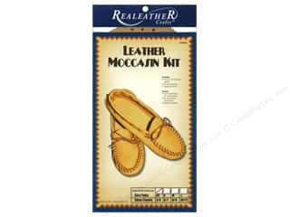 Crafting Kits $4 - $8: Silver Creek Moccasin Kit Extra Small - Size 4/5