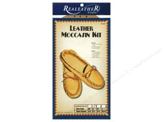 Silver Creek Leather Co. Cream/Natural: Silver Creek Moccasin Kit Small - Size 6/7