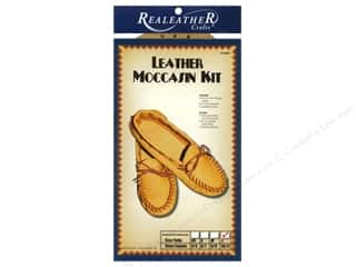 Silver Creek Leather Co. Cream/Natural: Silver Creek Moccasin Kit Large - Size 10/11