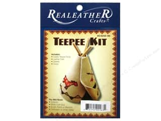 Weekly Specials EZ Acrylic Templates: Silver Creek Leathercraft Kit Mini Teepee