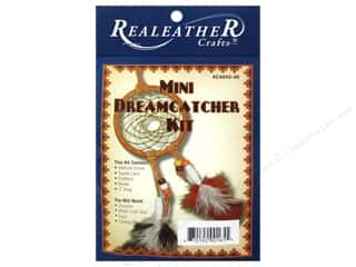 Projects & Kits inches: Silver Creek Leathercraft Kit Mini Dreamcatcher