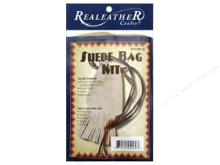 Silver Creek Leathercraft Kit Suede Fringed Pouch