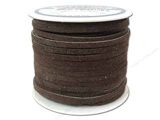 Silver Creek Suede Lace 1/8 in. x 25 yd. Chocolate